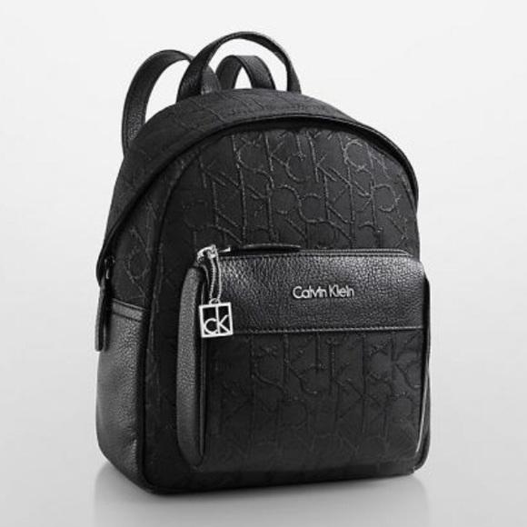 foto de Calvin Klein Bags   Black Hailey City Backpack   Poshmark